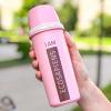 """Эко ланч набор розовая термобутылка """"Ecosapiens"""" + Ланч бокс супница в форме чашки 850 мл"""