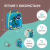 """Эко ланч набор 3D термо-рюкзак """"DinosourPr"""" ЭКО + синий термос детский """"Life"""" 350 мл + бирюзовый ланч бокс 750 мл"""