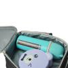 """Эко ланч набор термо-рюкзак 3D """"Football"""" термобутылка 500 мл + ланч бокс 4 в 1"""