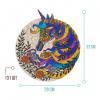 """Пазлы Jooki """"Magical unicorn"""" ЭКО, деревянные"""