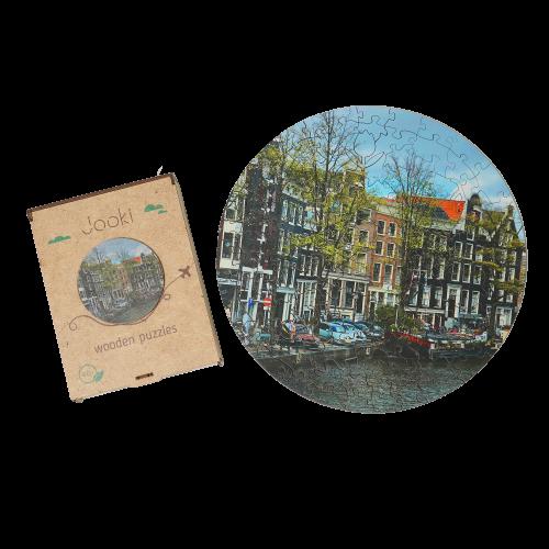 "Пазлы Jooki ""Amsterdam"" ЭКО, деревянные"