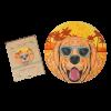 """Пазлы Jooki """"Sunny dog"""" ЭКО, деревянные"""