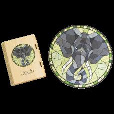 """Деревянные Пазлы """"Африканский Слон"""""""