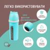 """Термобутылка """"Ecosapiens Kids"""" из экоматериала, бирюзовая 500 мл."""