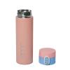 """Термос металлический """"Space"""" с поильником, розовый 450 мл."""