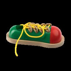 Детская развивающая игрушка шнуровка «Кед»