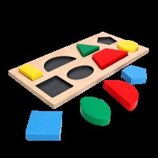 Рамка — вкладыш «Геометрические фигуры 8»