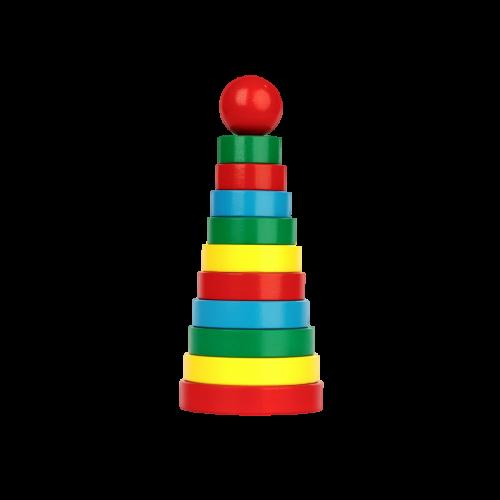 Пирамидка «Кольцевая» 11 элементов