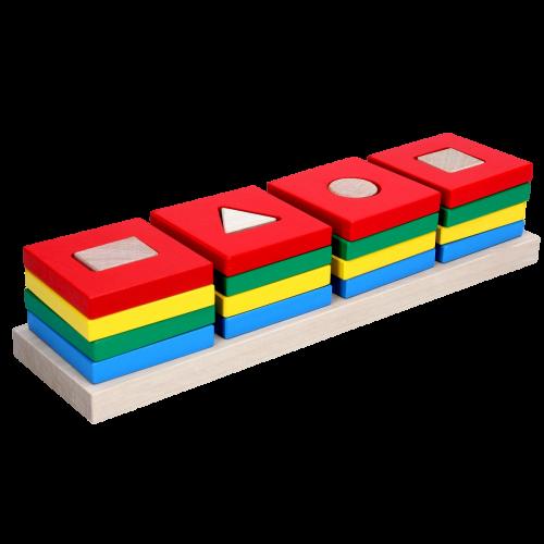 Игра — сортер «Цветной квартет».