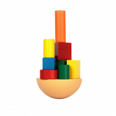 Игра — балансир «Кривая башня».