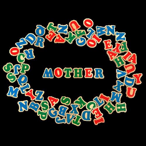 "Набор ""Английский алфавит на магнитах 72 буквы"""