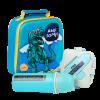 """Эко ланч набор 4в1, 3D термо-рюкзак """"Dinosour"""" термобутылка 500 мл + ланч бокс 750 мл"""