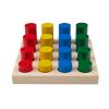 """Игра-сортер """"Цветные цилиндры"""""""