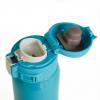 """Термос металлический """"Royal"""" с поильником, голубой 500 мл + деревянная подарочная коробка"""