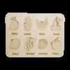 Детский деревянный планшет «Фрукты»