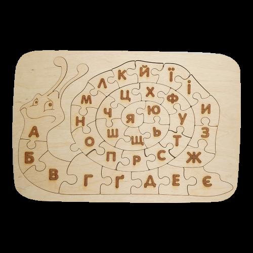 Детский деревянный планшет «Улитка»