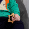 """Детская игрушка-гризунець  для младенцев """"Звездочка"""""""