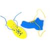 Детская развивающая игрушка  шнуровка «Ботинок и кед»
