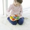 Детская развивающая игрушка шнуровка «Геометрическая»