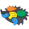 Детская развивающая игрушка  шнуровка «Ёж»
