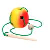 Эко подарочный  набор, шнуровка «Кролик» + шнуровка «Яблоко»+ Пирамидка «Кольцевая»+ подарочная коробка